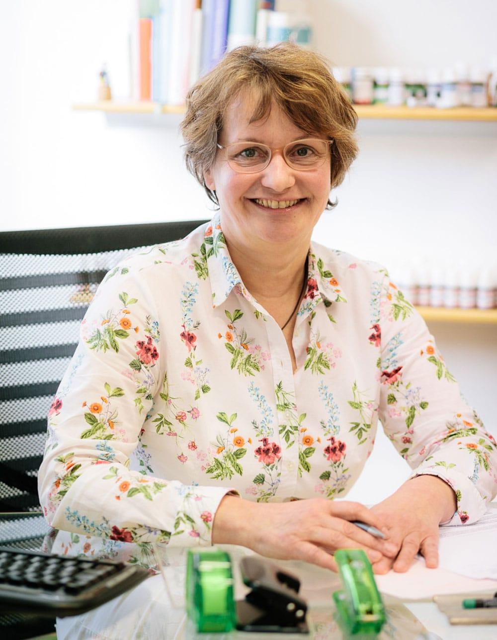 Ihre Hautärztin: Helga Knippel