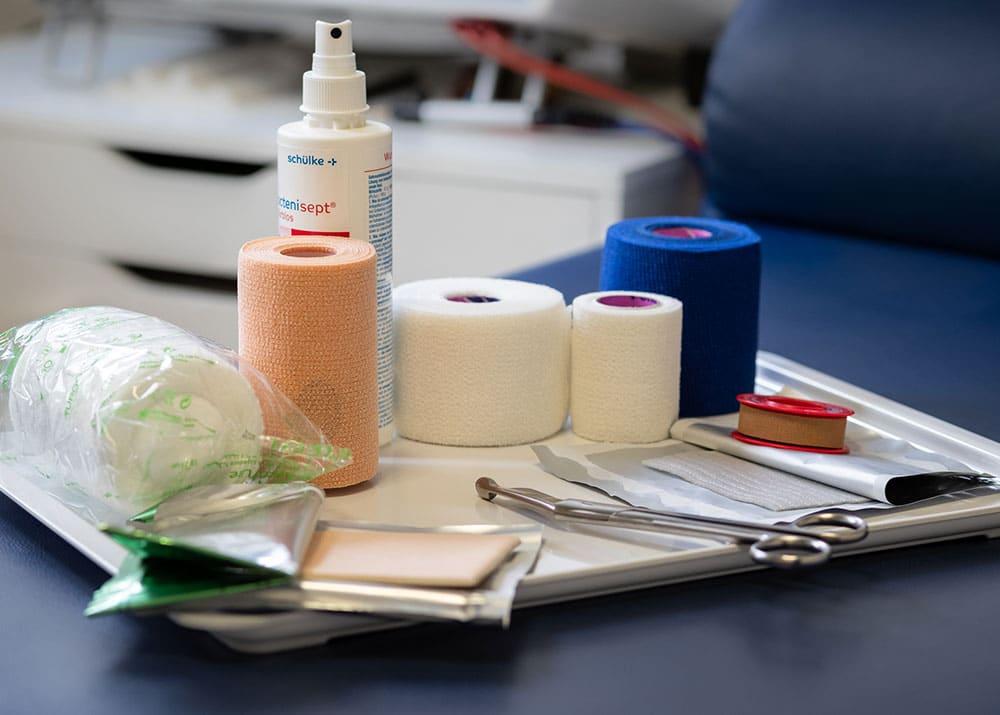 Moderne Wundversorgung: Behandlung von chronischen Wunden